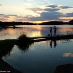 Finlândia, sol da meia-noite