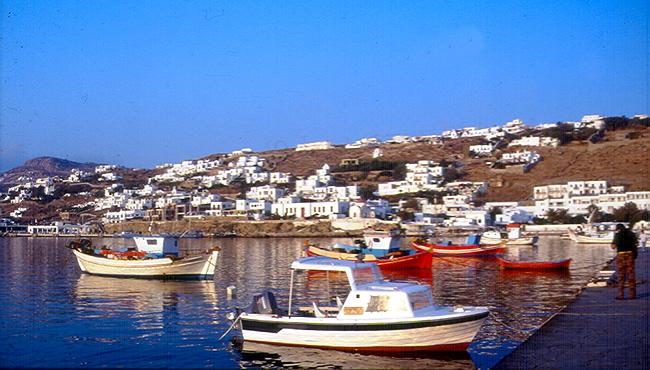 Grécia, Mikonos
