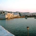 Grécia, porto de Mikonos