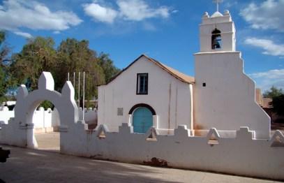 Igrejinha emsan Pedro de Atacama, Chile
