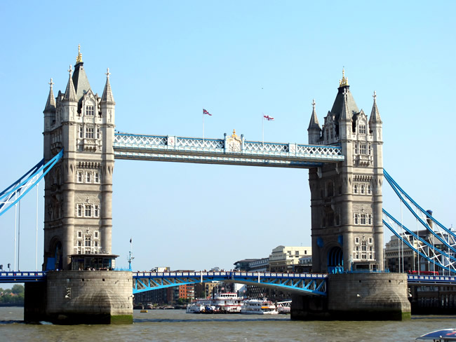 Inglaterra, Brige of London, foto Melina Castro
