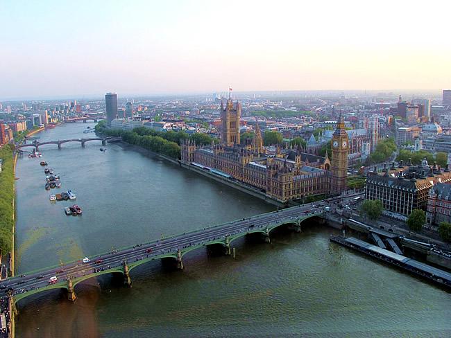 Inglaterra, Londrs, foto panorâmica, Melina Castro