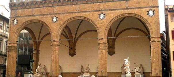 Loggia dei Lanzi, Florença, Itália
