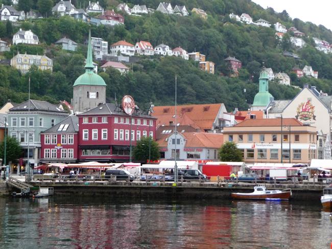 Noruega, porto de Bergen
