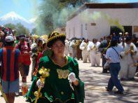 Carnaval em San Pedro de Atacama, no Chile