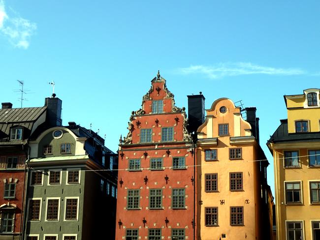 Suécia Estocolmo, Cidade Velha