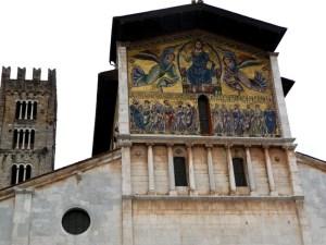 Duomo da cidade de Lucca, na Itália