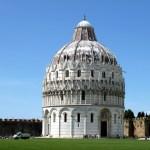 Batistério, em Pisa, Toscana, Itália