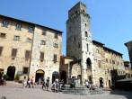 A medieval San Gimignano, na Toscana