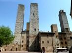 As torres de San Gimigano, Itália