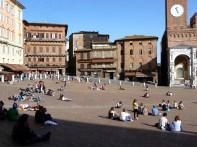 Piazza del Campo, Siena, Toscana