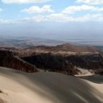 Valle de la Muerte, dunas, Deserto de Atacama, no Chile