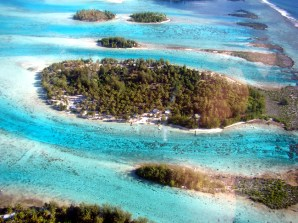 Bora-Bora, ilhas da laguna