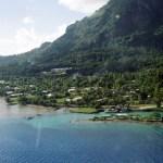 Bora Bora vista do alto