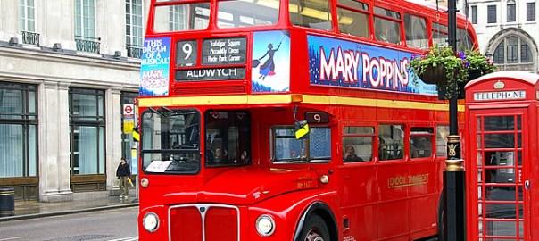 Ônibus londrino, foto deJean-Marc Astesana CCBYSA
