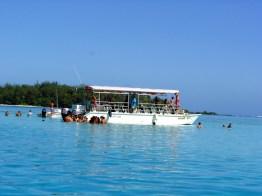 Mergulho na laguna de Bora-Bora