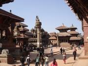 O centro antigo, o Durbar Square, Patan, Nepal