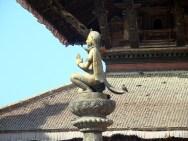 Pedestal real, Patan, Nepal