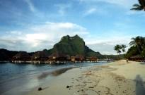 Praia em Bora Bora