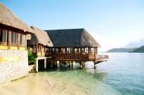 Restaurante do Resort Orient Express, em Bora Bora