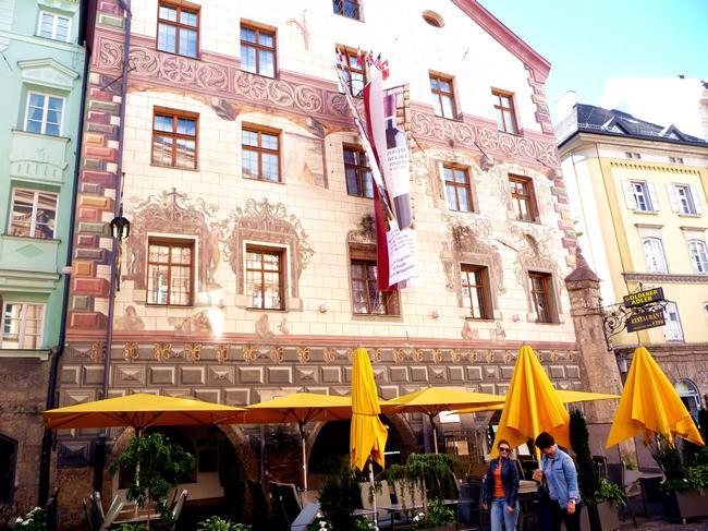 Arquitetura em Innsbruck, Áustria