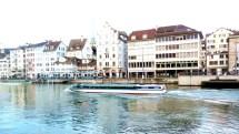 Barco que realiza tours em Salzburgo