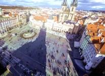 Centro de Praga vista do alto