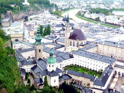 Centro histórico de Salzburgo