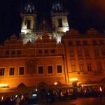 Cidade Velha à noite, Praga