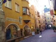 Construções no centro históricode Innsbruck
