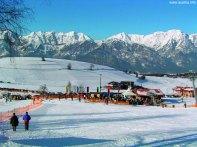 Estação de esportes de inverno, Innsbruck, Áustria