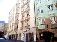 Innsbruck, construções no centro histórico