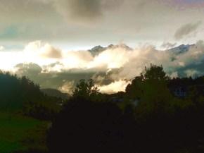 Montanhas em Innsbruck