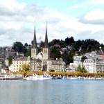 O centro histórico de Lucerna
