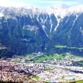 Picos nevados próximo a Innsbruck