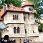 Praga, sinagoga no antigo bairro judeu
