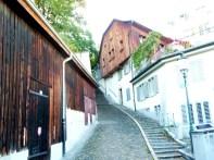Rua em Zurich