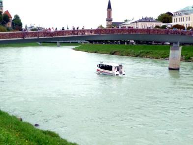 Salzburgo, rio Salzach