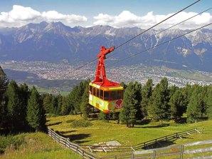 Telefério em Innsbruck