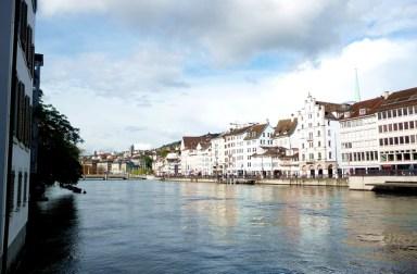 Zurich, rio Limmat