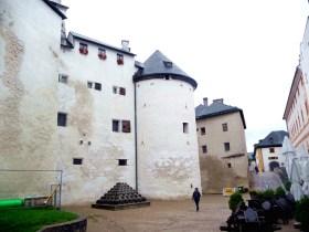 Salburg, interior do castelo, pátio