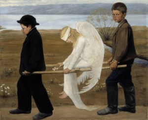 Simberg, The wounded Angel