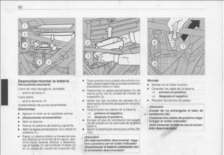 BMW k75 Manual de Reparación PDF Motos Manuales