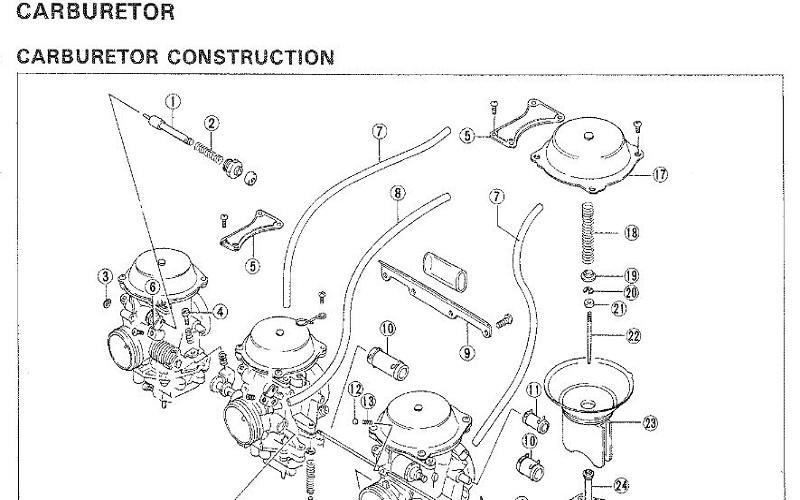 Suzuki GSXR750 Manual de Reparación PDF Manuales Para Motos
