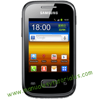 Samsung Galaxy Pocket S5300 Manual de usuario PDF