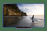 Samsung Smart TV ES9000 instructions stock footage dish latino