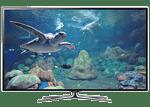 Samsung Smart TV ES6570S tv internet skype banco de imágenes