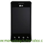 LG Optimus Chic Manual de usuario en PDF Español