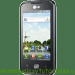 LG Optimus Hub manual usuario pdf