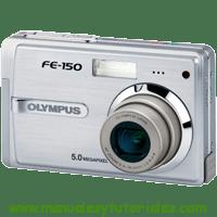 Olympus FE-150 Manual de usuario en PDF Español